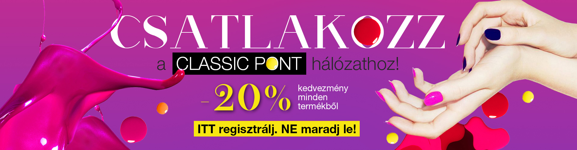 Classic Nails Pont -20%