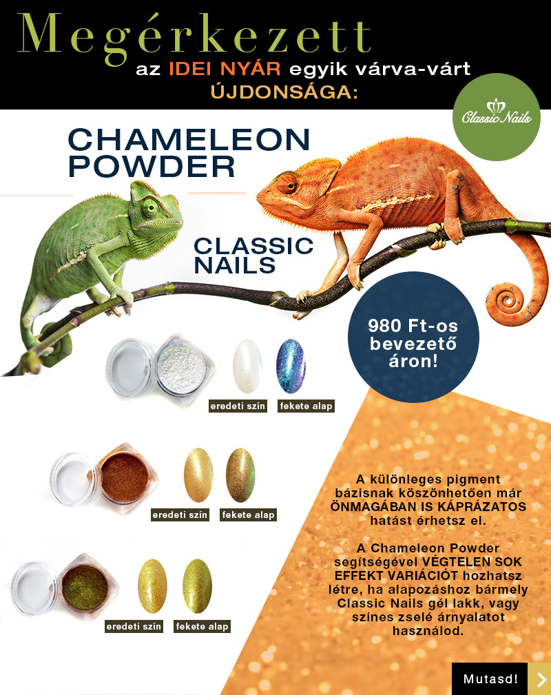 Classic Nails Chameleon Powder