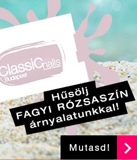 Classic Nails One Step gél lakk fagyi rózsaszín 006