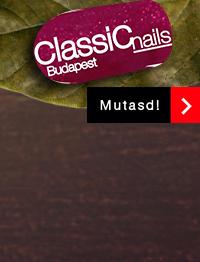 Classic Nails őszi gél lakk, málnaszörp, 301