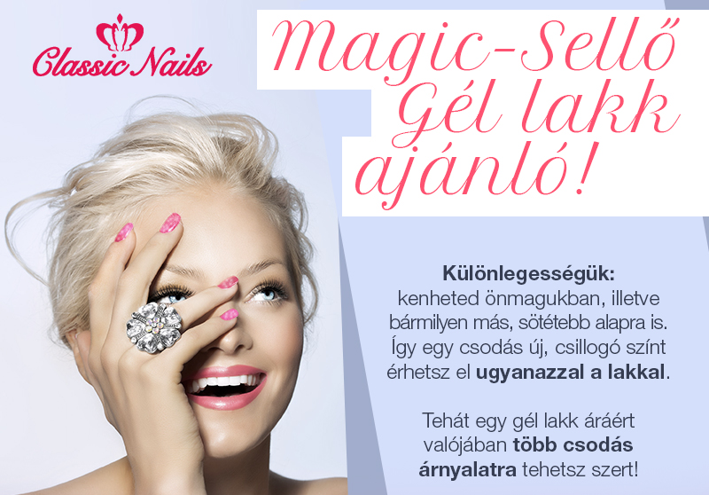 Classic Nails Magic-Sellő gél lakk ajánló