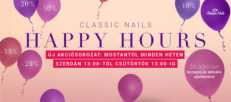 Classic Nails Happy Hours