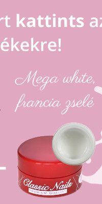 Mega white francia zselé